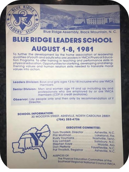 Blue Ridge Leaders School 1981